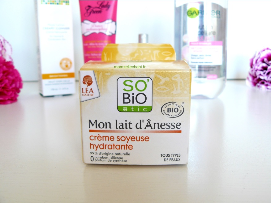 routine-anti-acne-so-bio-etic-lait-anesse-mamzelle-chahi