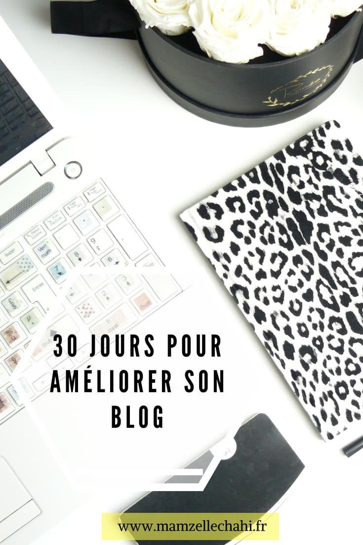 30 jours pour améliorer son blog