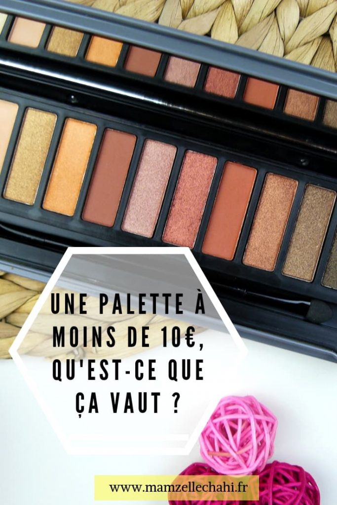 Palette d'ombres à paupière You Are Cosmetics